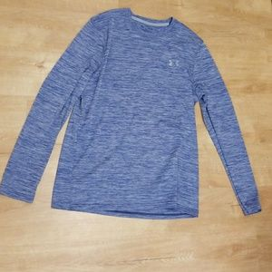Under armour long sleeve work out shirt.